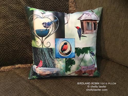 Bird Pillow Shelly Lawler Home Collection