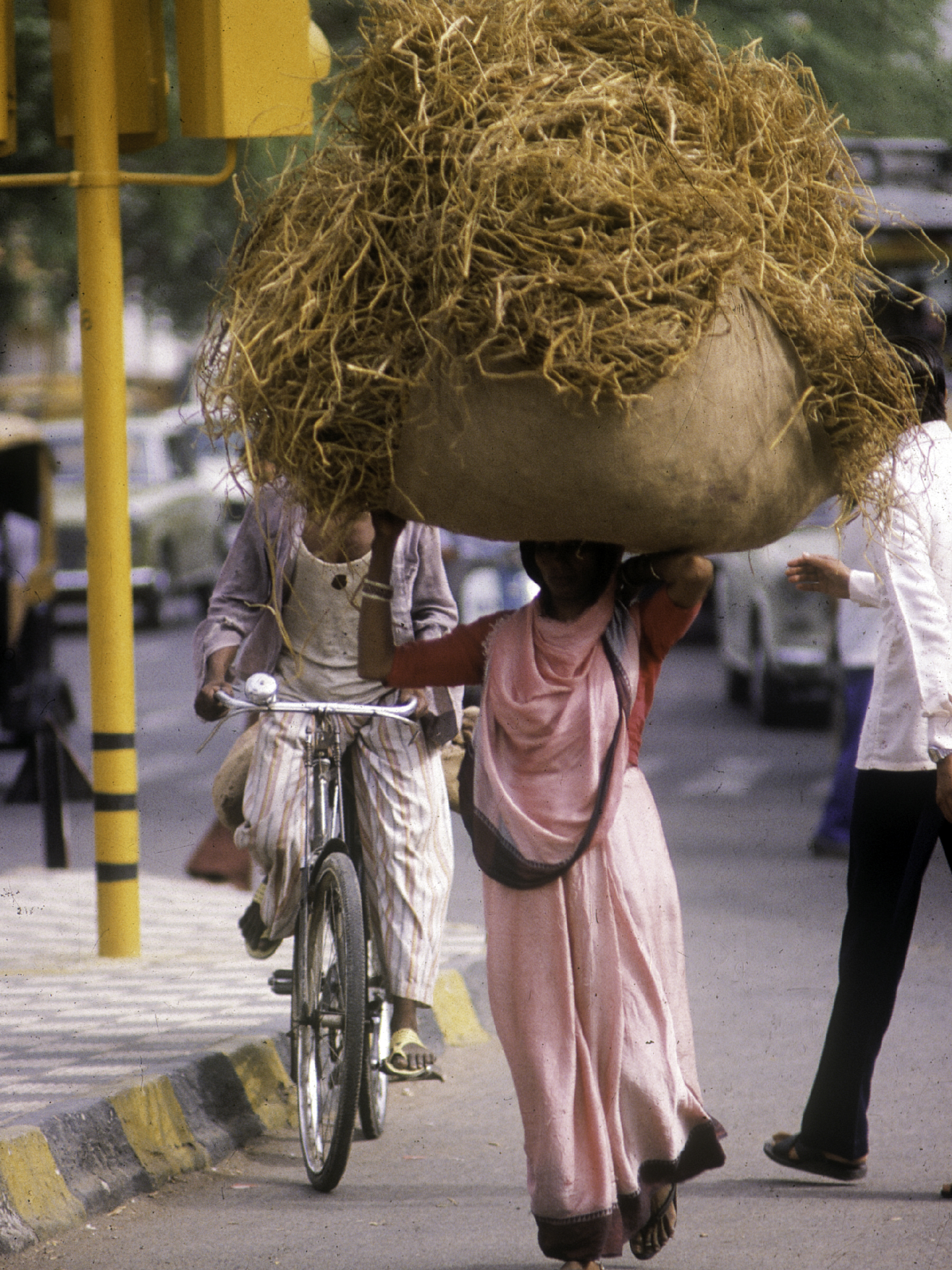 India Straw Hat