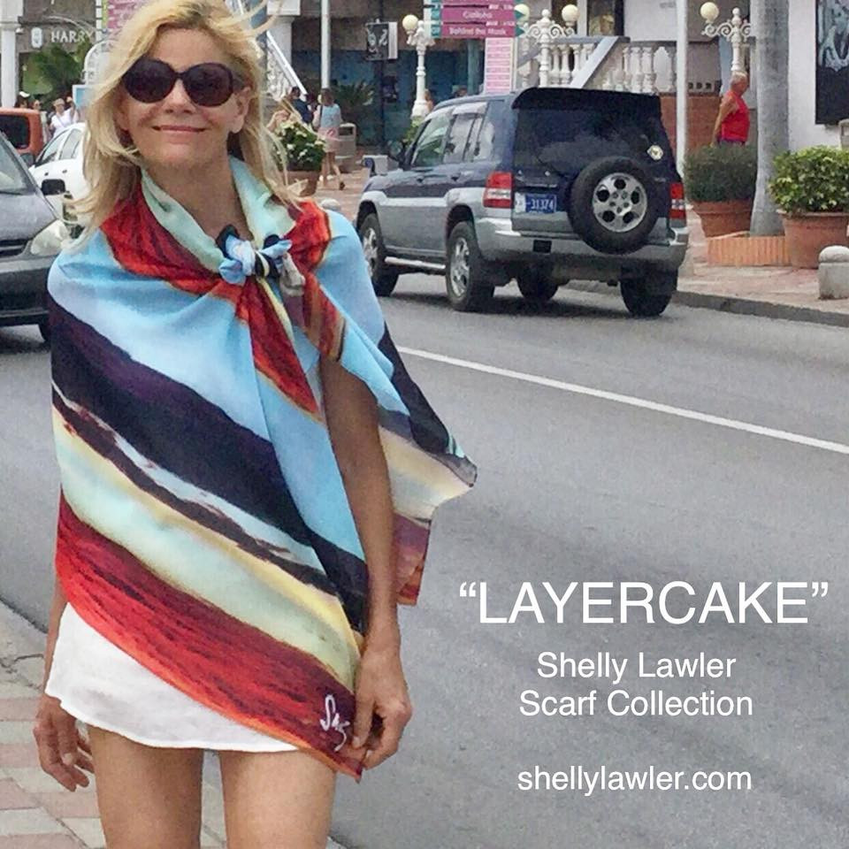 SHELLY LAWLER SCARF COLLECTION