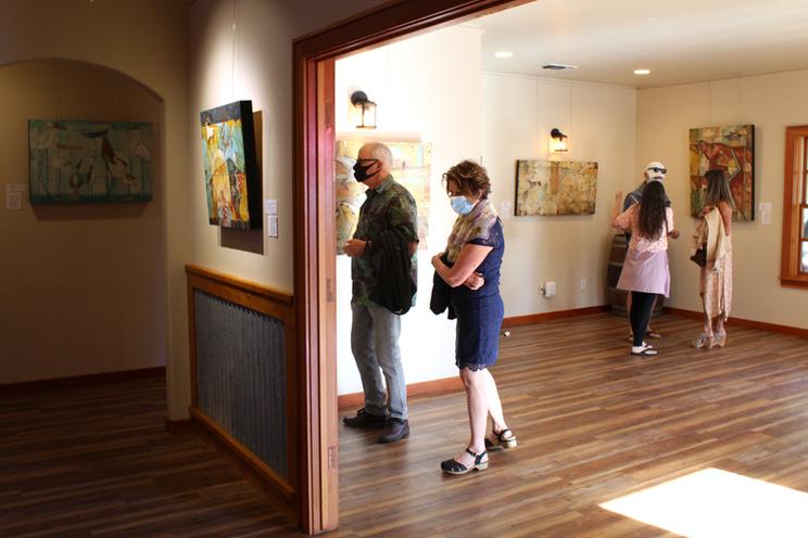 Art Show Opening Reception, First Friday Artwalk, Nevada City