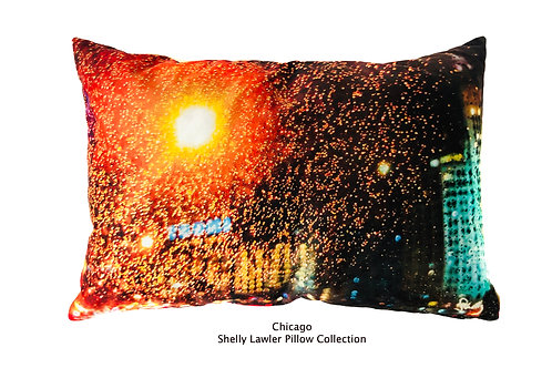 Chicago Pillow Shelly Lawler designs