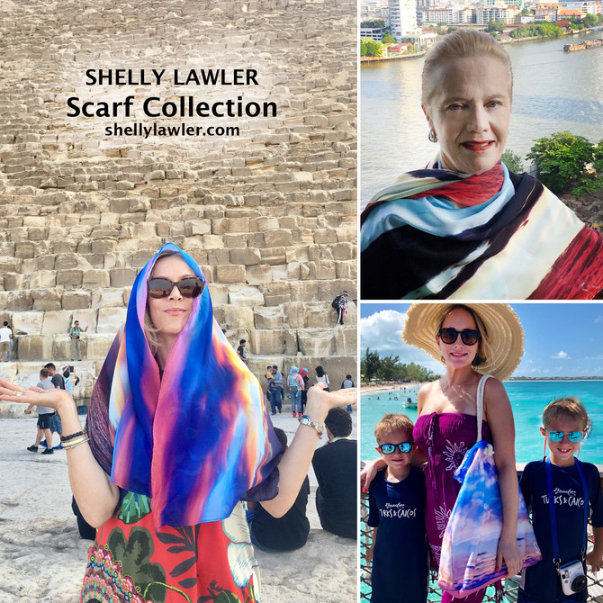 Shelly Scarf Gone Global