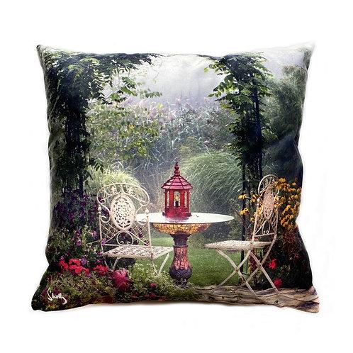 Garden Original Art Pillow Shelly Lawler Collection