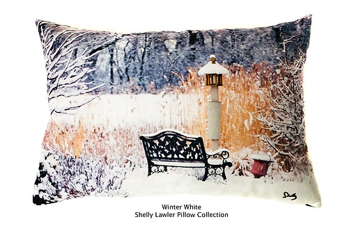 Winter Pillow Shelly Lawler Pillow Designs