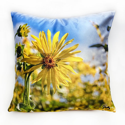 Sunflower Pillow Shelly Lawler Collection