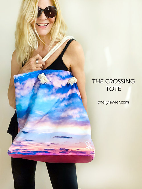 The Crossing Tote Bag Shelly Lawler Collection