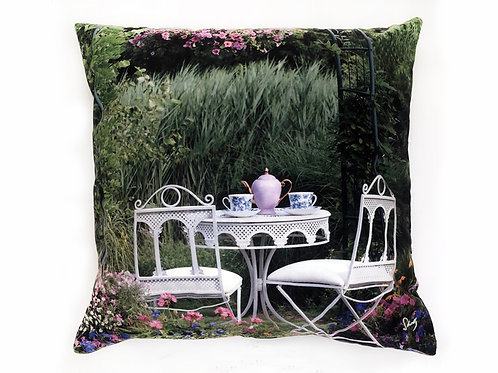 Tea Time Pillow Shelly Lawler Home Collection