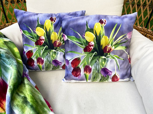 Tulips Pillow