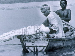 Burial in the Ganga River