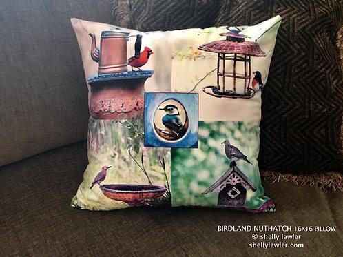 Bird Pillow Shelly Lawler Pillow Collection