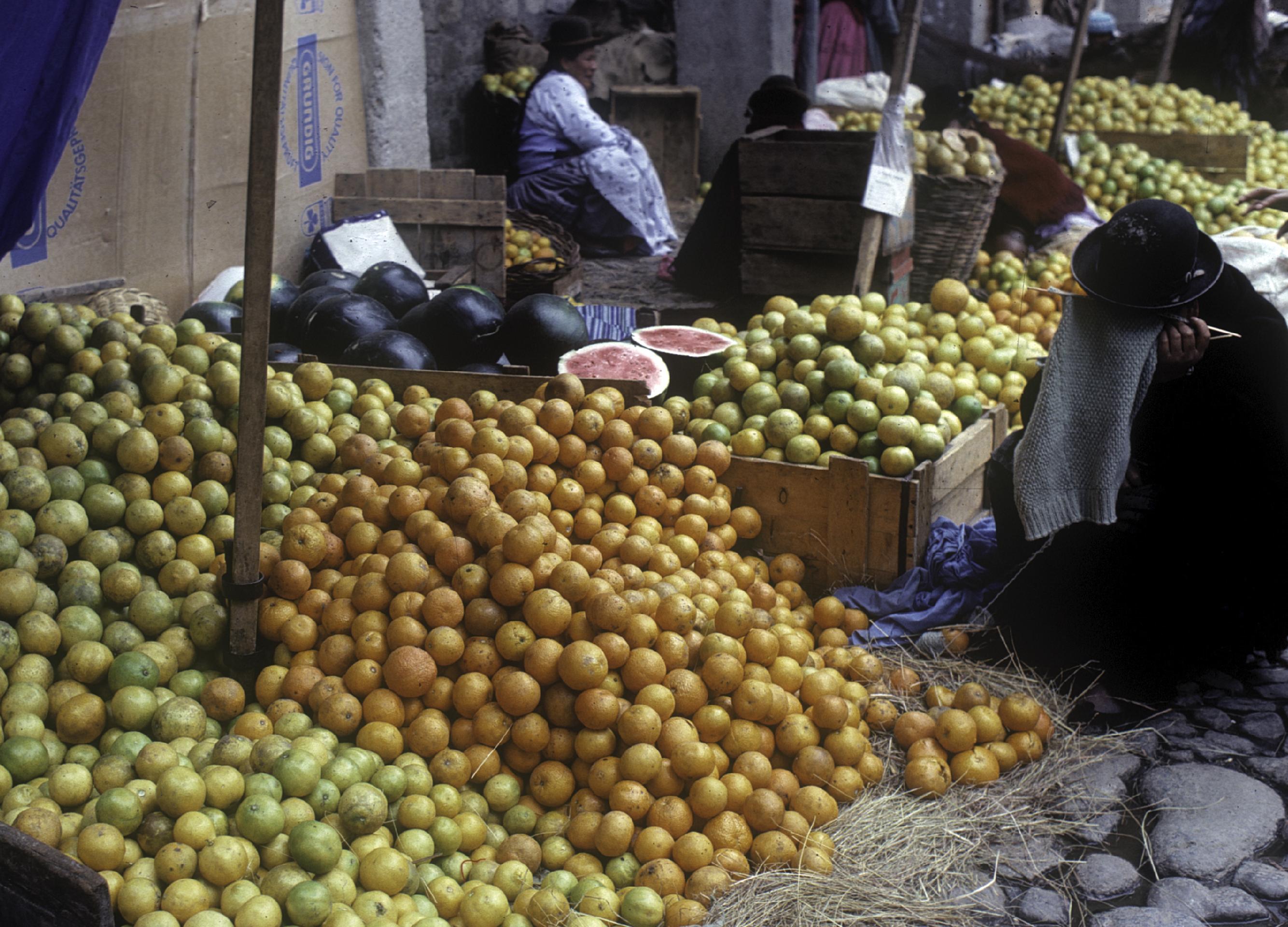 La Paz Boliva Market Stealing Souls