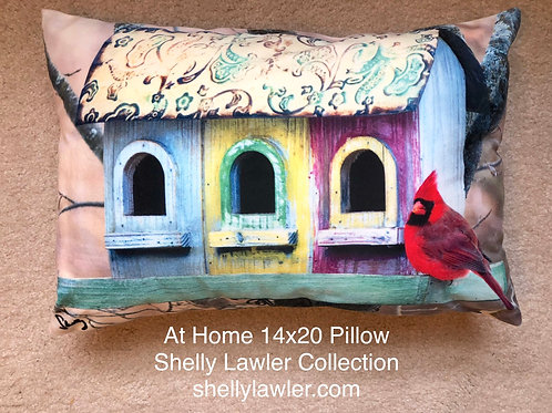 Red Cardinal Pillow Shelly Lawler Home Collection