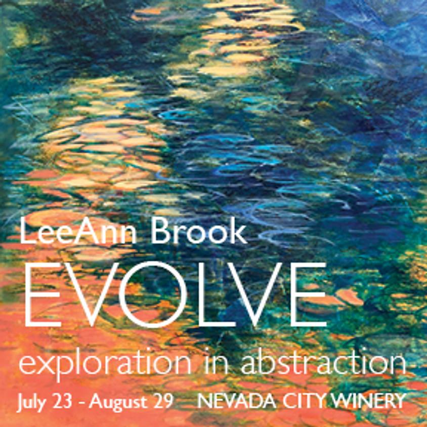 """August Art Show - """"Evolve"""" By LeeAnn Brook"""