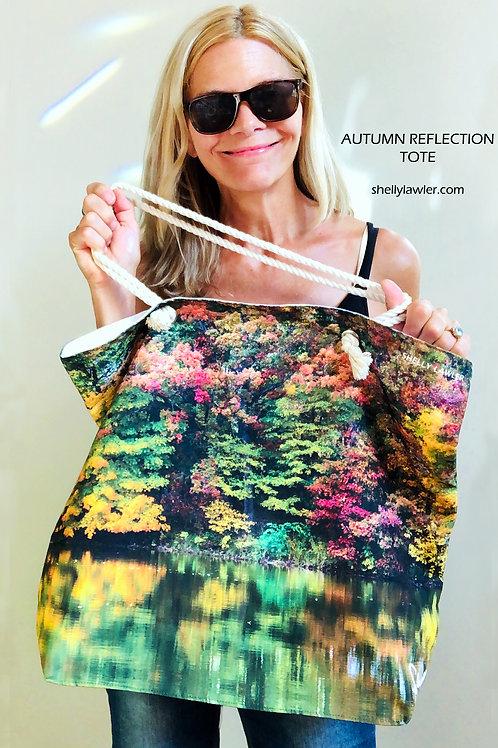 Autumn Reflection Tote