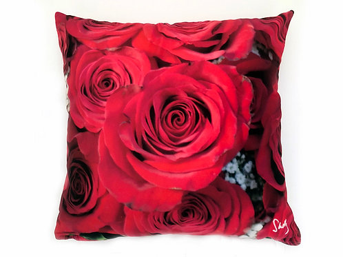 Roses Pillow Shelly Lawler Home Collection