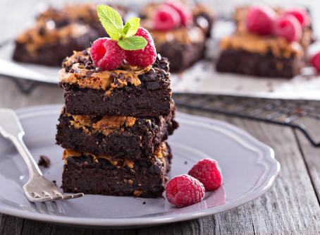Vegan Black Bean & Peanut Butter Brownies!! YUMMM!