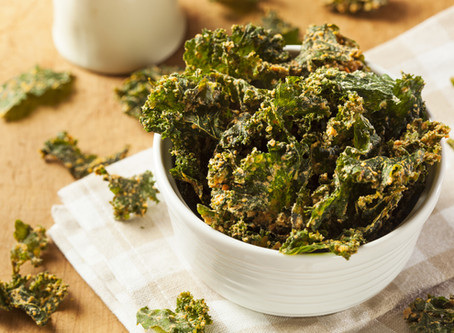 Scrumptious Kale Chips!