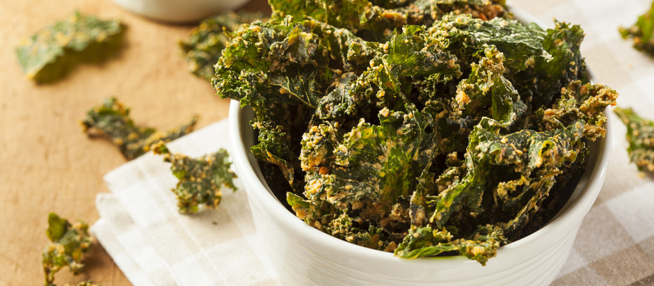 Scrumptious Kale Chips!