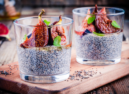 Fig Chia Pudding!
