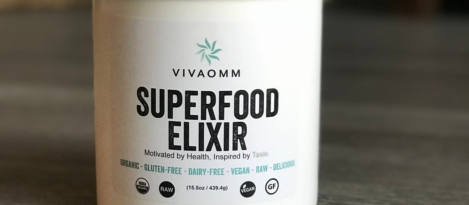 Superfood Elixir For Smoothies!