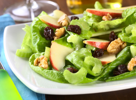 Spinach & Apple Salad :)