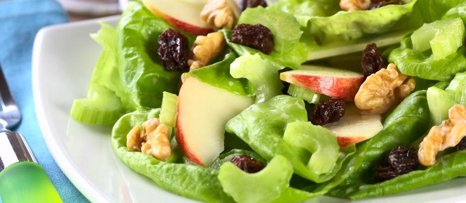 Spinach & Apple Salad :)