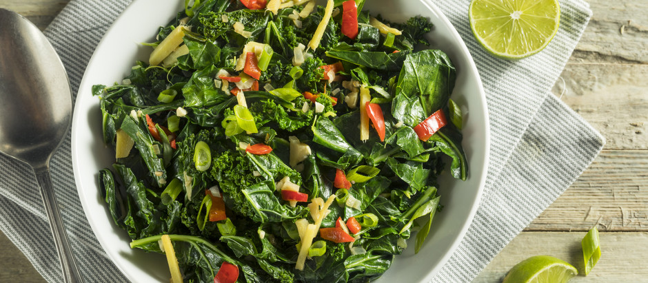 Spinach & Kale Salad!