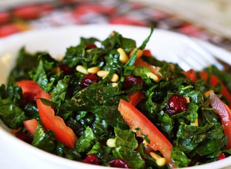 Slimming Raw Kale Salad