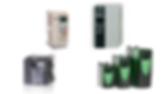 Variadores de frecuencia para motors de corriente alterna, Control Techniques, Delta, Hitachi, Mitsubishi, Teco, Tecowestinghouse
