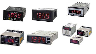 Medidores de panel, medidores de escala, medidor miniatura, medidor grafico, multi indicador