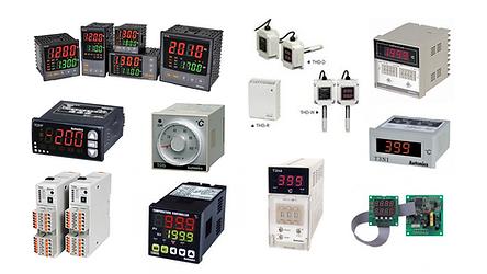 Controles de temperatura, controladores de temperatura, Autonics