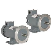 Motores eléctricos de corriente directa, reductores corona y sin fin flecha izquierda y flecha derecha fabricados en hierro fundido.