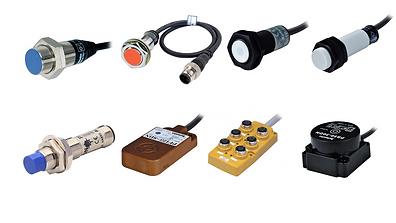 Sensores de proximidad, sesor tipo inductivo, sensor tipo capacitivo, acoplador de transmision,  caja de conexiones de sensores, sensor inductivo cuarado, sesor cilindrico