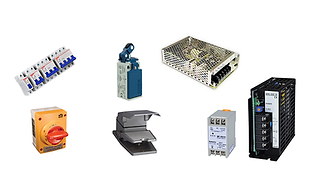 Fuentes de alimentacion, fuentes de poder, interruptores de corriente, interruptores de pedal, interruptores de limite, interruptores desconectadores