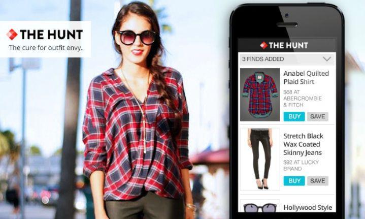 THE HUNT: la perfecta aplicación para encontrar tus gustos de moda.
