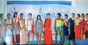 Su colección Curití presentada en el New York Fashion Week.