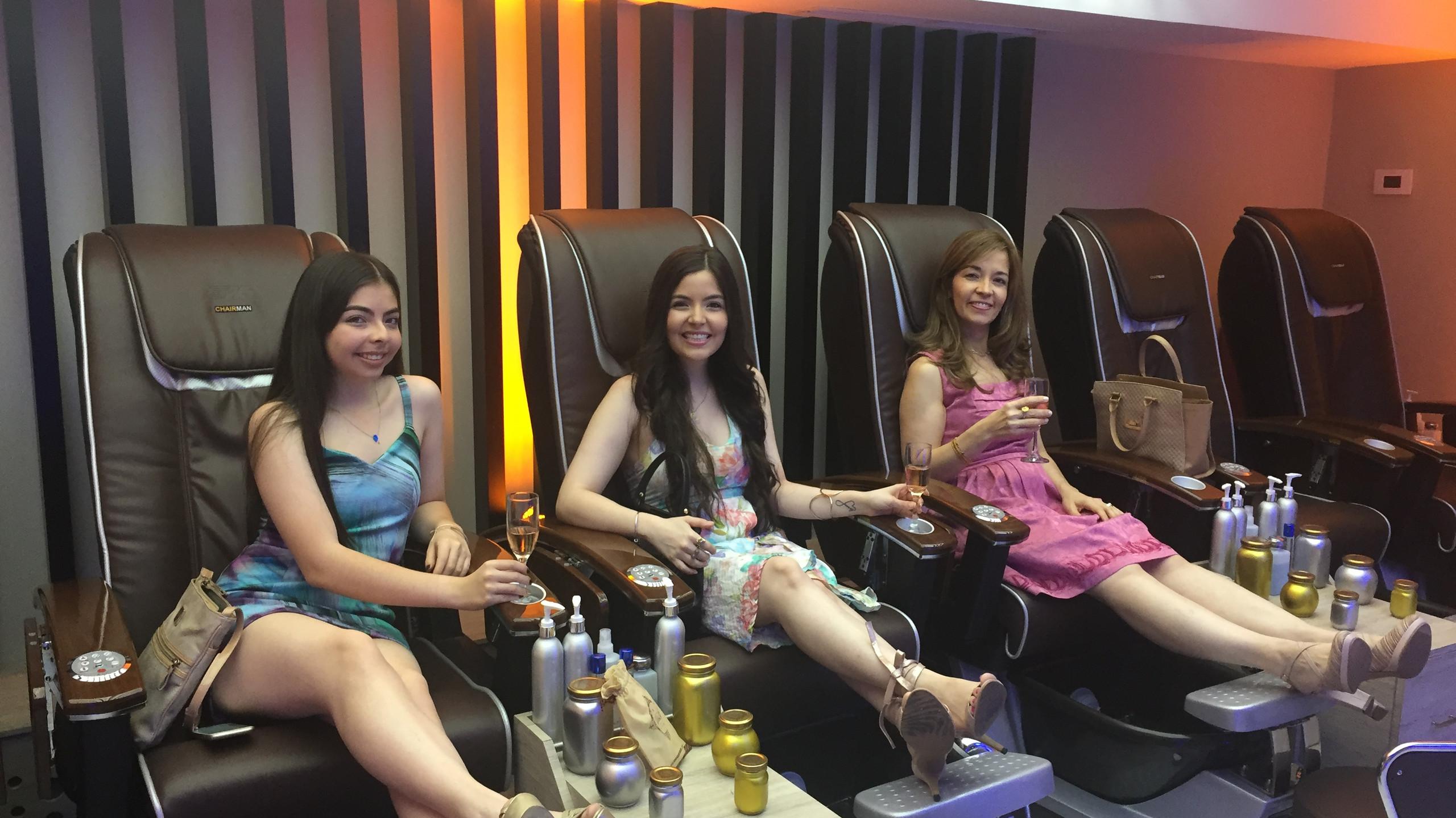 Spa de pies sillas masajeadoras