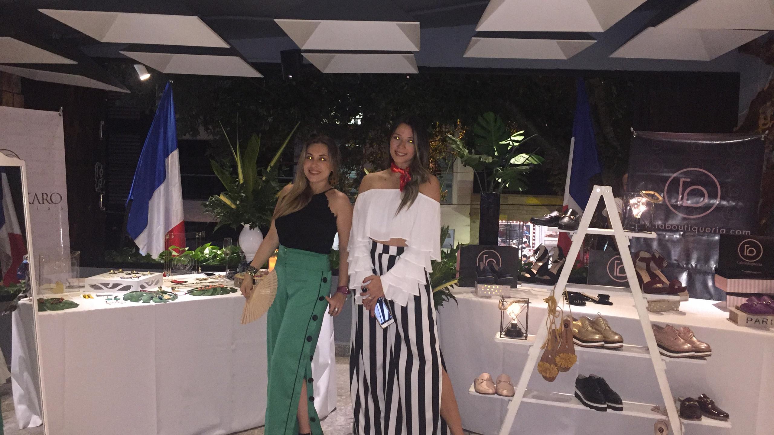 Milena Dkaro y Katherine Jiménez