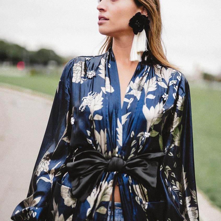 El kimono y las sedas