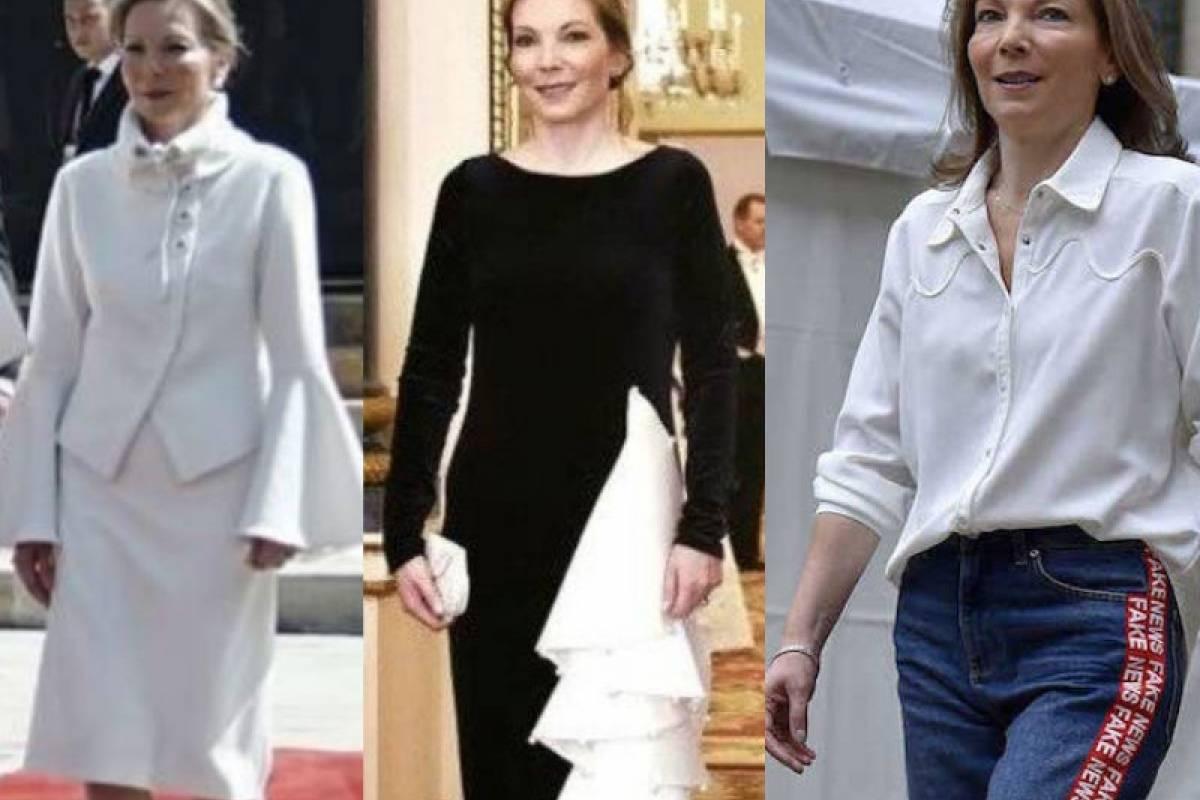 La moda en una primera dama