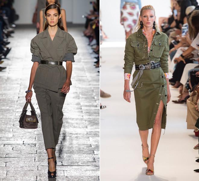 La moda militar una de las tendencias que le agregan empoderamiento a la mujer como un mensaje social