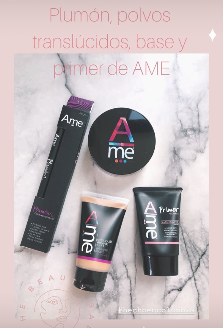 maquillaje Ame