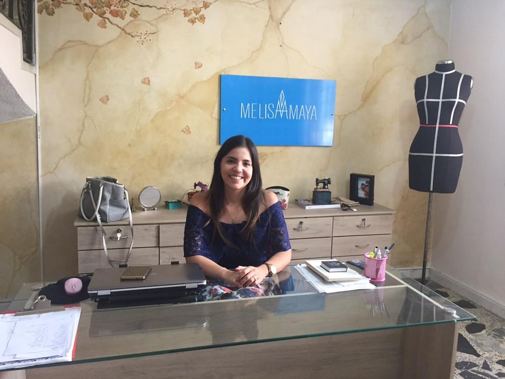 Diseñadora y empresaria Melisa Amaya