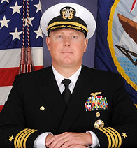 Captain Christopher Cox, USN, Commanding Officer, NAS, Patuxent River, MD