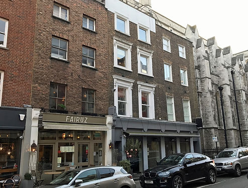 5-7 Blandford Street, Marylebone, London W1 l'autre pied