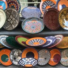 Ceramics stall in Aix-en-Provence