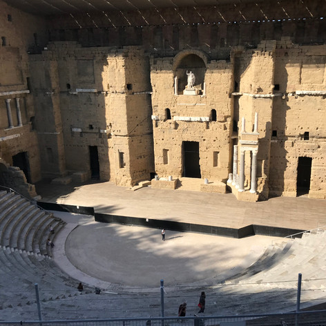 Roman theater in Orange
