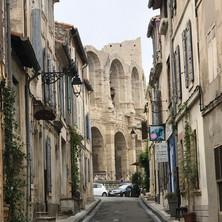 Roman amphitheater in Arles