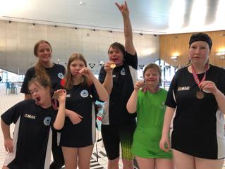 Fantastiske resultater av Aaslk Swimstars  på Landsstevnet