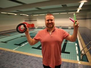 Oppstart svømmekurs på Sjøholt tirsdag 18.september